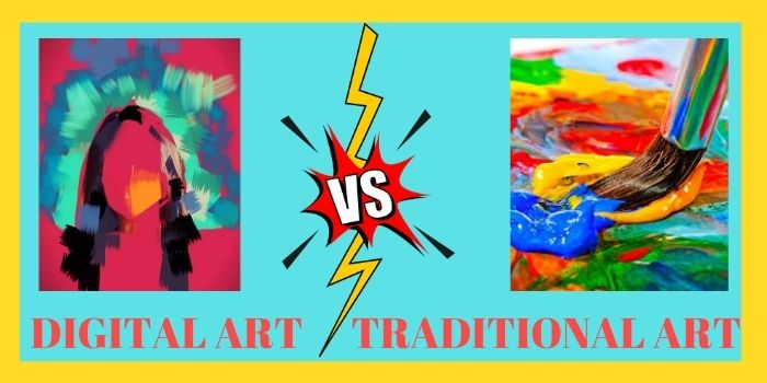 Digital Arts vs Traditional Art